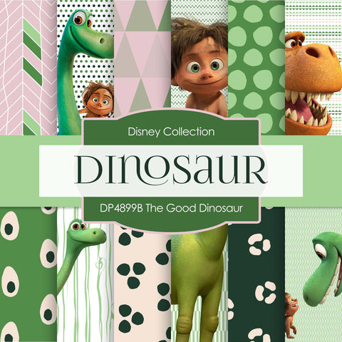 The Good Dinosaur Digital Paper DP4899B - Digital Paper Shop - 1