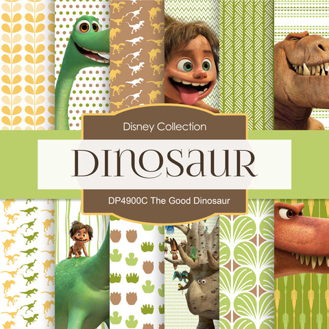 The Good Dinosaur Digital Paper DP4900C - Digital Paper Shop - 1