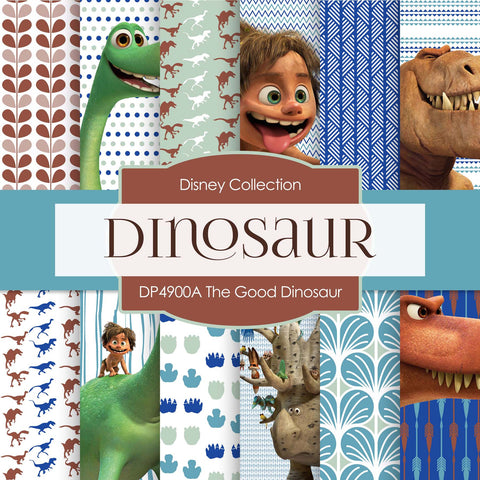 The Good Dinosaur Digital Paper DP4900B - Digital Paper Shop - 1