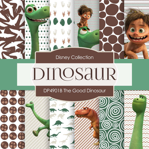 The Good Dinosaur Digital Paper DP4901B - Digital Paper Shop - 1