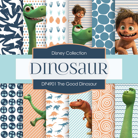The Good Dinosaur Digital Paper DP4901 - Digital Paper Shop - 1