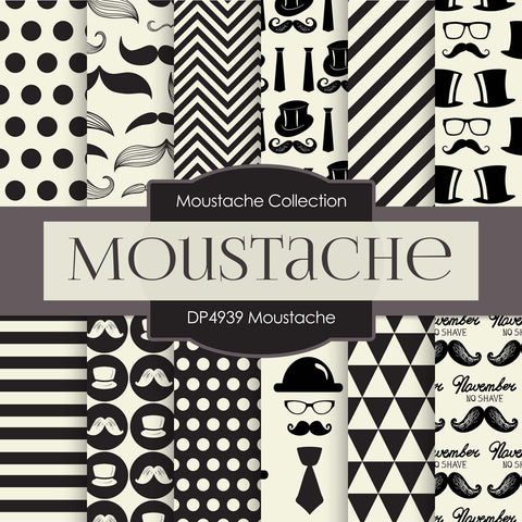 Moustache Digital Paper DP4939 - Digital Paper Shop - 1