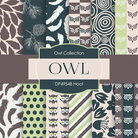 Hoot Digital Paper DP4954B - Digital Paper Shop - 1