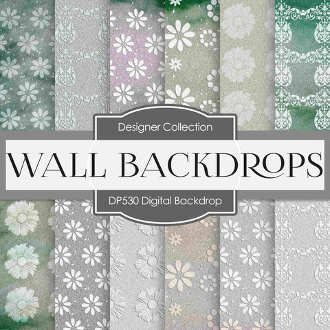 Christmas Backdrops Digital Paper DP530 - Digital Paper Shop - 1
