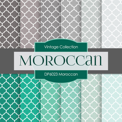 Moroccan Digital Paper DP6023 - Digital Paper Shop - 1