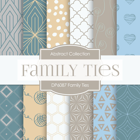 Family Ties Digital Paper DP6087