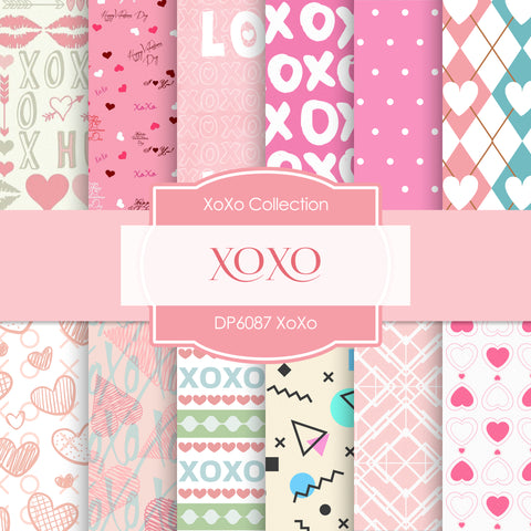 XoXo Digital Paper DP6087A