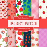 Berry Patch Digital Paper DP6088