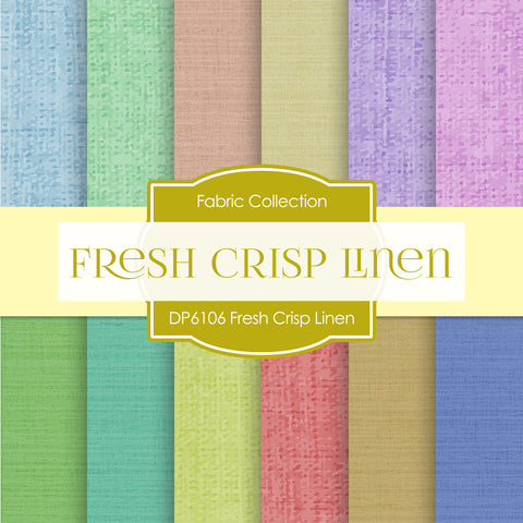 Fresh Crisp Linen Digital Paper DP6106A