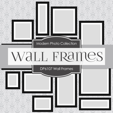 Wall Frames Digital Paper DP6107A
