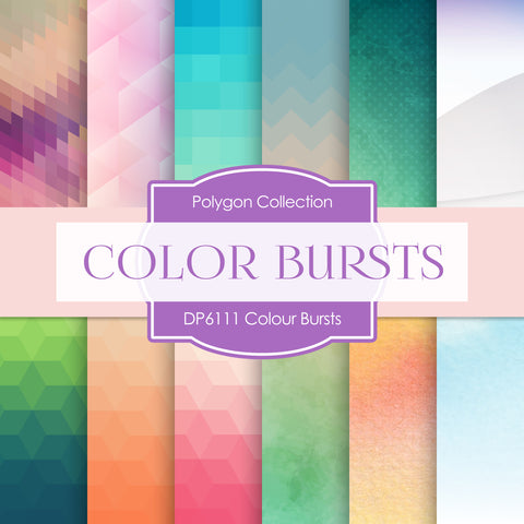 Colour Bursts Digital Paper DP6111A