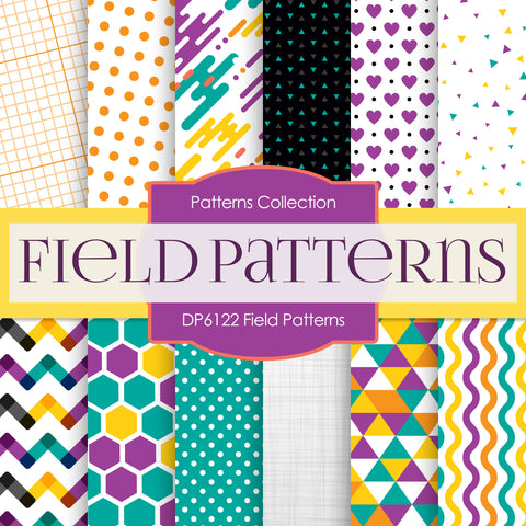 Field Patterns Digital Paper DP6122B