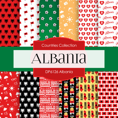 Albania Digital Paper DP6126