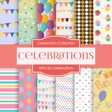 Celebrations Digital Paper DP6126A