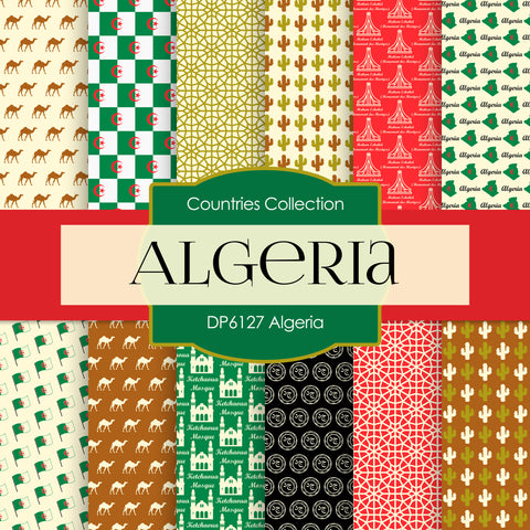 Algeria Digital Paper DP6127