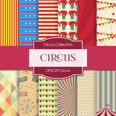 Circus Digital Paper DP6129A