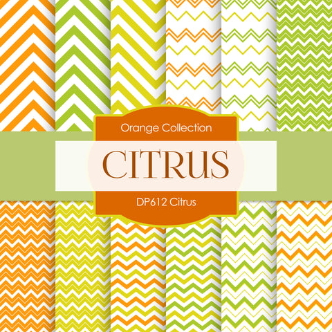 Citrus Digital Paper DP612B - Digital Paper Shop - 1