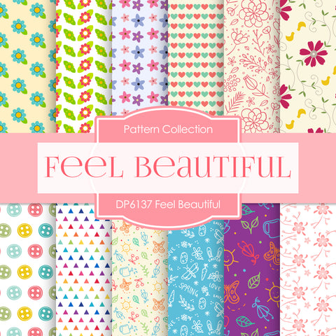 Feel Beautiful Digital Paper DP6137A