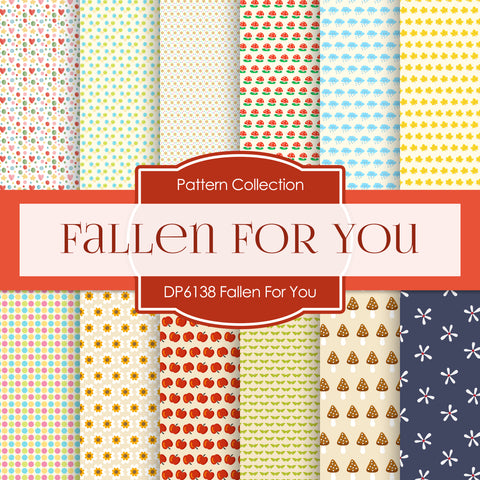 Fallen For You Digital Paper DP6138A