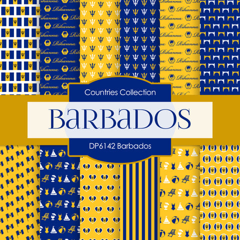 Barbados Digital Paper DP6142