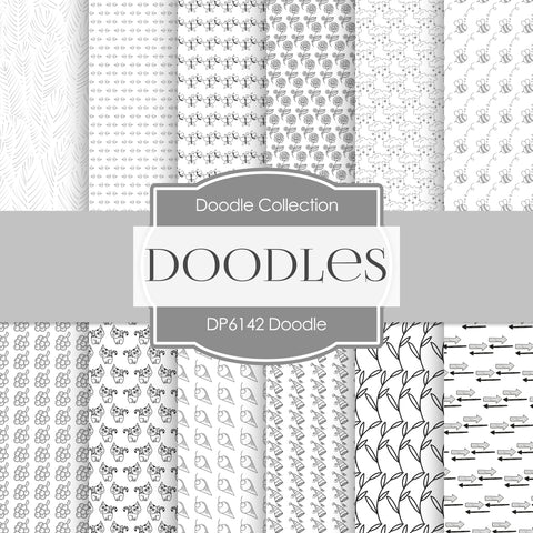 Doodles Digital Paper DP6142A