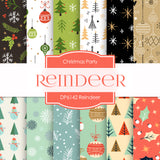 Reindeer Digital Paper DP6142