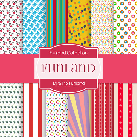 Funland Digital Paper DP6145C