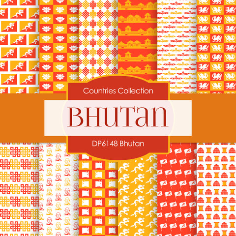 Bhutan Digital Paper DP6148