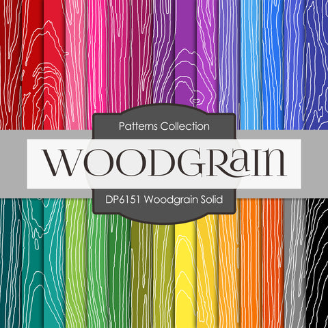 Woodgrain Solid Digital Paper DP6151A