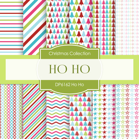 Ho Ho Ho Digital Paper DP6162C