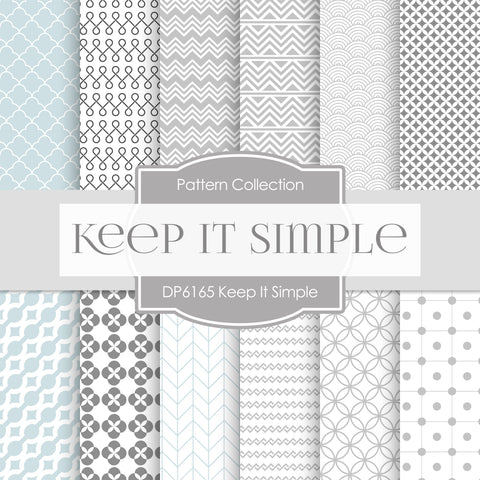 Keep It Simple Digital Paper DP6165B