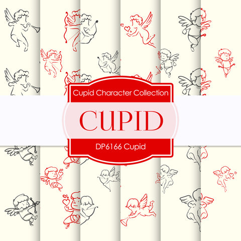 Cupid Digital Paper DP6166B