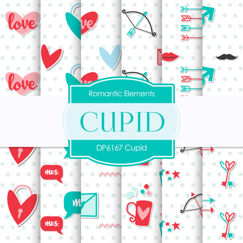 Cupid Digital Paper DP6167B