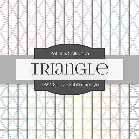 Large Subtle Triangle Digital Paper DP6218A