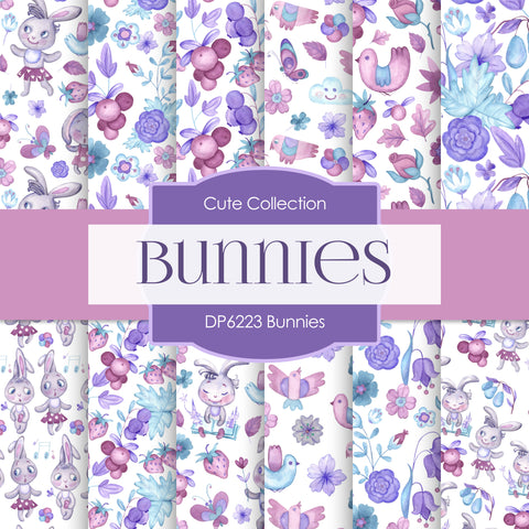 Bunnies Digital Paper DP6223B