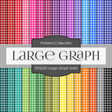 Large Graph Solid Digital Paper DP6225A