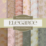 Gold Elegance Digital Paper DP6226A