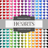 Plain Heart Digital Paper DP6238A