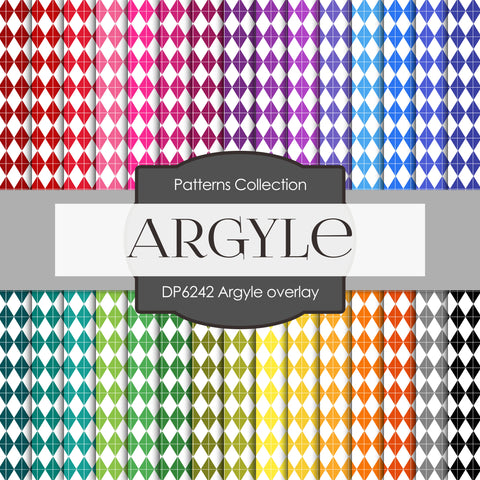 Argyle overlay Digital Paper DP6242A