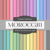 Tiny Moroccan Light Digital Paper DP6277A