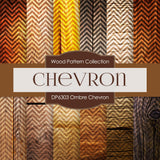 Ombre Chevron Digital Paper DP6303A