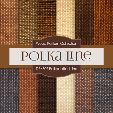 Polkadotted Line Digital Paper DP6309A