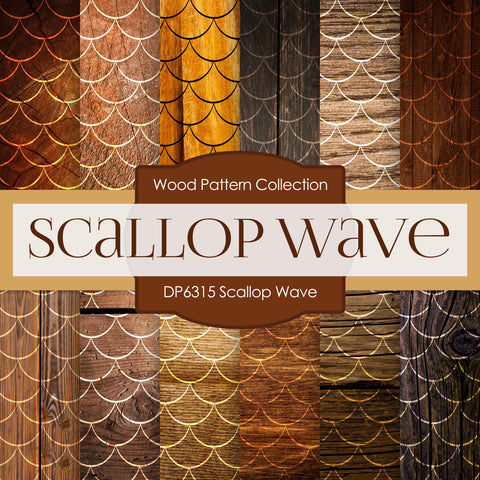 Scallop Wave Digital Paper DP6315A