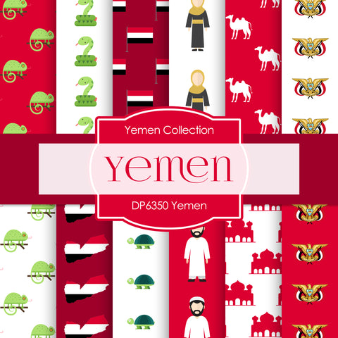 Yemen Digital Paper DP6350
