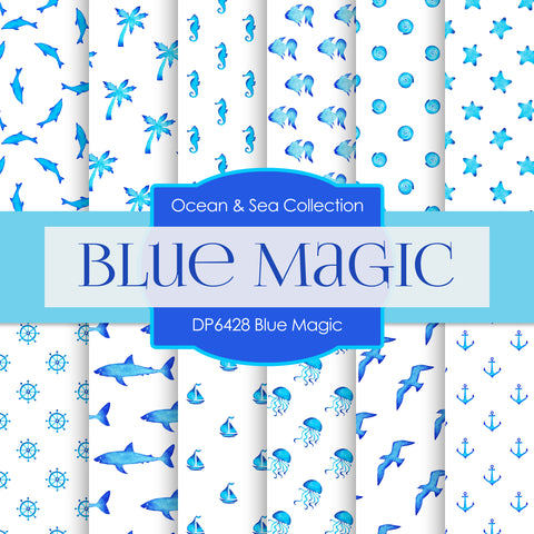 Blue Magic Digital Paper DP6428