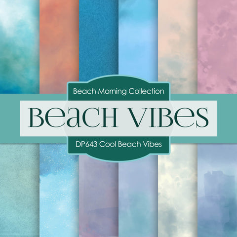Cool Beach Vibes Digital Paper DP6431