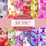 Rose Textures Digital Paper DP643 - Digital Paper Shop - 1