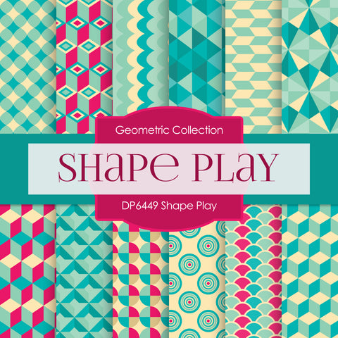 Shape Play Digital Paper DP6449