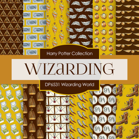 Wizarding World Digital Paper DP6531