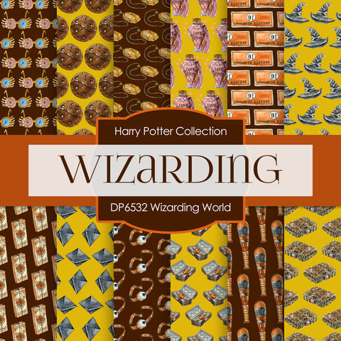 Wizarding World Digital Paper DP6532